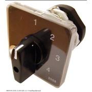 Пакетный переключатель АсКО ПКП Е9 1р 25А 4-позиционный выбор фазы 0-1-2-3 фото