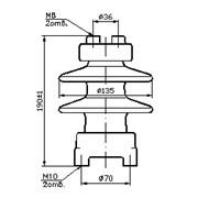 Изоляторы керамические опорные С4-80 фото