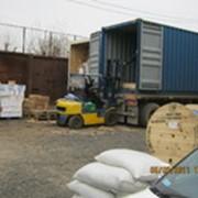 Перевалка грузов в г.Комсомольске-на-Амуре фото