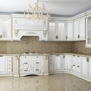 Кухня в классическом стиле из дерева фото