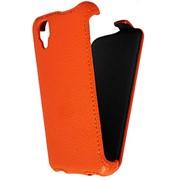Чехол-флип HamelePhone для Explay Bit оранжевый фото