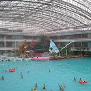 Системы вентиляции и осушения для бассейнов и аквапарков. фото