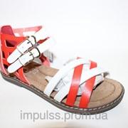Детская кожаная обувь, размеры 33-36 фото