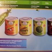 Зеленый горошек, кукуруза, фасоль красная консерв. фото