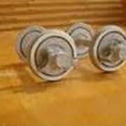Ремонт прицепных колесных пар поездов фото