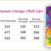 Мобильные стенды Roll-up фото