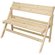 Скамейка складная деревянная фото