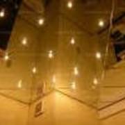 Зеркальные потолки и колонны фото