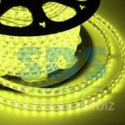 LED лента Neon-Night, герметичная в силиконовой оболочке, 220V, 10*7 мм, IP65, SMD 3528, 60 диодов/метр, цвет светодиодов желтый, бухта 100 метров фото