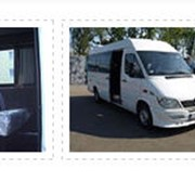 Перевозки автобусные местные Mersedes Sprinter Maxi Bus грузопасажир фото