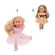 DIMIAN Кукла Bambolina Boutique 30 см, 2 вида , изготовлена из ПВХ, подвижные глаза, в кож (BD1601-M37) фото