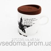 Чашка с силиконовой крышкой Звезда фото
