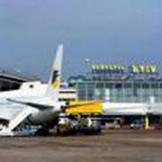 Реклама в аэропорту Борисполь фото
