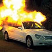 Система автоматического пожаротушения для автомашины. фото