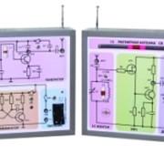 Комплект демонстрационно-лабораторный для обучения принципам радиопередачи и радиоприема. (1 передатчик + 1 приемник) фото