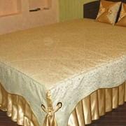 Пошив покрывал и декоративных подушек. фото