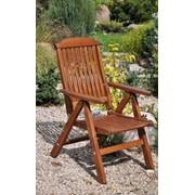 Кресло садовое складное деревянное Primo фото
