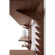 Полки настенные из натурального дерева, приобрести деревянные полки от производителя фото