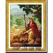"""Набор для вышивания """"Добрый пастырь"""" 60501 фото"""