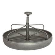 Поилка / кормушка 2л, Ø 26 см. нержавеющая сталь / арт. 52.01.22408/ фото