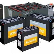 Замена тяговых батарей в складской технике фото