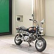 Мопед мокик Honda Monkey рама Z50J год выпуска 1985 Minibike задний багажник пробег 1 т.км черный фото