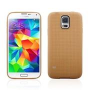 Чехол силиконовый Dot Design для Samsung Galaxy S5 G900 Gold