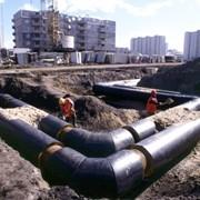 Ремонт, прокладка подземных коммуникаций промышленных предприятий и тепловых сетей фото