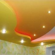 Многоуровневые и эксклюзивные натяжные потолки фото