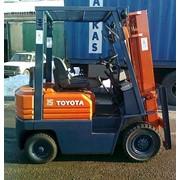 Аренда дизельного погрузчика Toyota 5FD15 - 16137 фото