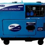 Дизельный генератор закрытого типа 6500T, Генераторы дизельные фото