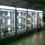 Витрины,стелажи, прилавки,торговое оборудование из алюминиевого профиля для магазинов,аптек,мобильных салонов фото