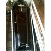 Гробы и труны из дерева элитных, крепких пород. фото