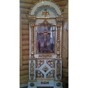Изготовление иконостасов,киотов,церковный декор фото
