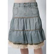 Юбка джинсовая Арт S70238 фото
