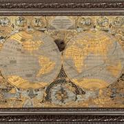 Карта мира сувенирная Златоуст фото
