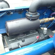 Монтаж компрессоров в шасси с приводом от КОМа фото