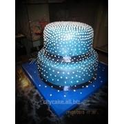 Торт свадебный №0104 код товара: 1-0104 фото
