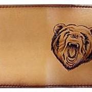 Обложка для паспорта «Медведь» фото