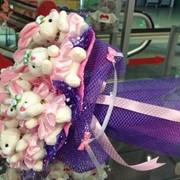 Открытки в букеты цветов в Алматы фото
