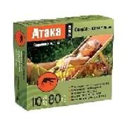 Инсектицид Атака спираль от комар. 10шт фото