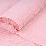 Бумага креп/гофрированная, 50 х250 см., нежно-розовый, 1 шт., 2546 фото