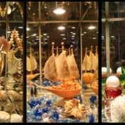 Продажа сувениров в гостинице фото