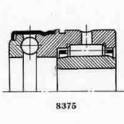 Подшипник 5-484807 роликовый радиальный с длиными цилиндрическими или игольчатыми роликами фото