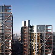 Каркасы высотных жилых зданий фото