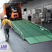 Передвижная гидравлическая рампа для погрузки/разгрузки строительной техники, Подъемное оборудование фото