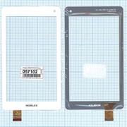 Сенсорное стекло (тачскрин) QSD E-C7119-01 белое, Диагональ 7 фото