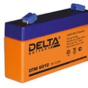 Аккумулятор Delta DTM 6012 герметичный свинцово-кислотный фото