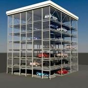 Паркинг модульный ПМ-8 фото