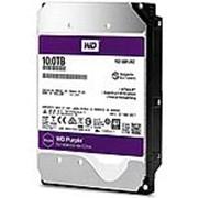 Жесткий диск HDD WD SATA3 10Tb Purple Video IntelliPower 256Mb (WD100PURZ) фото